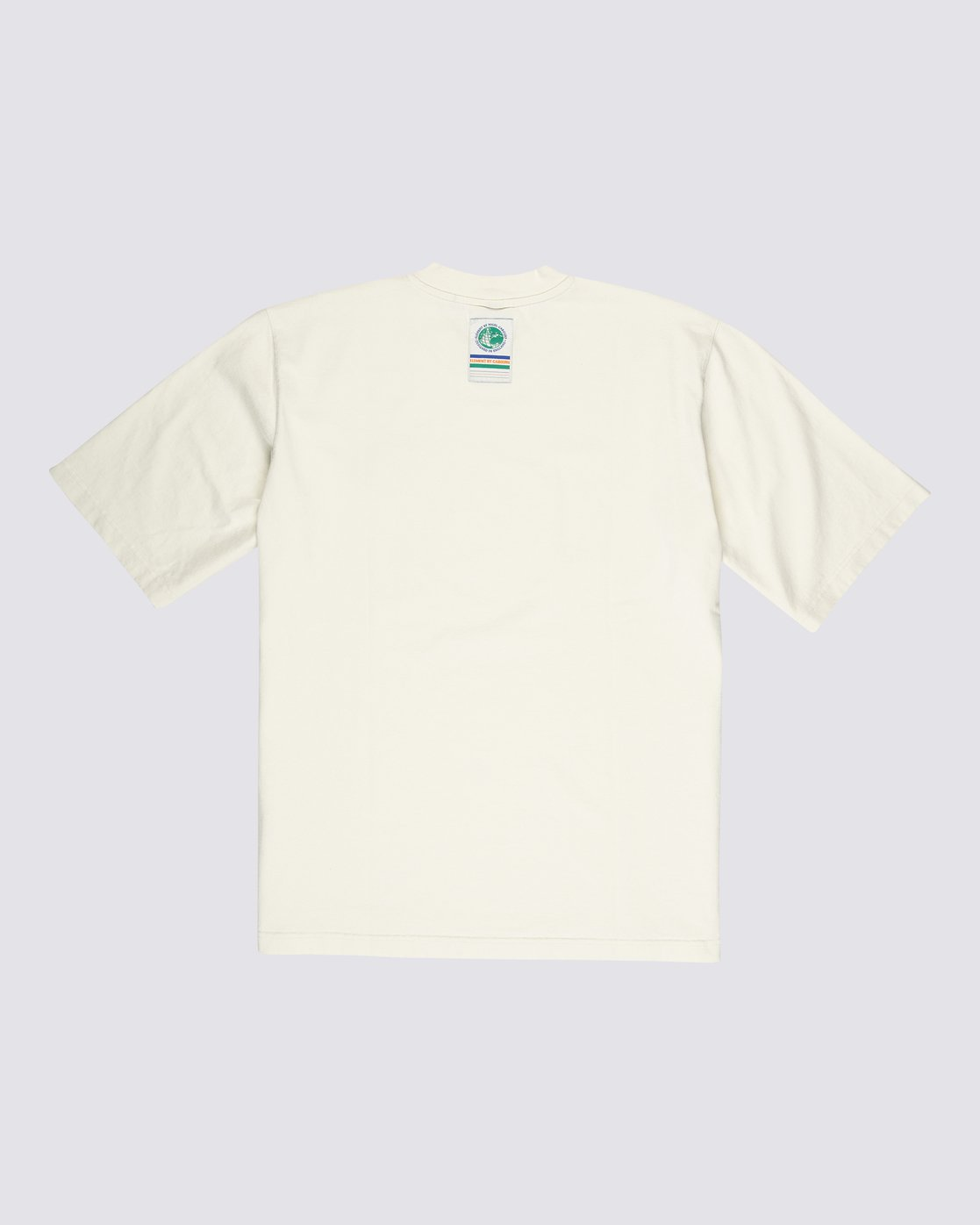 1 Element by Nigel Cabourn Sports Crew Tee White M9311ESP Element
