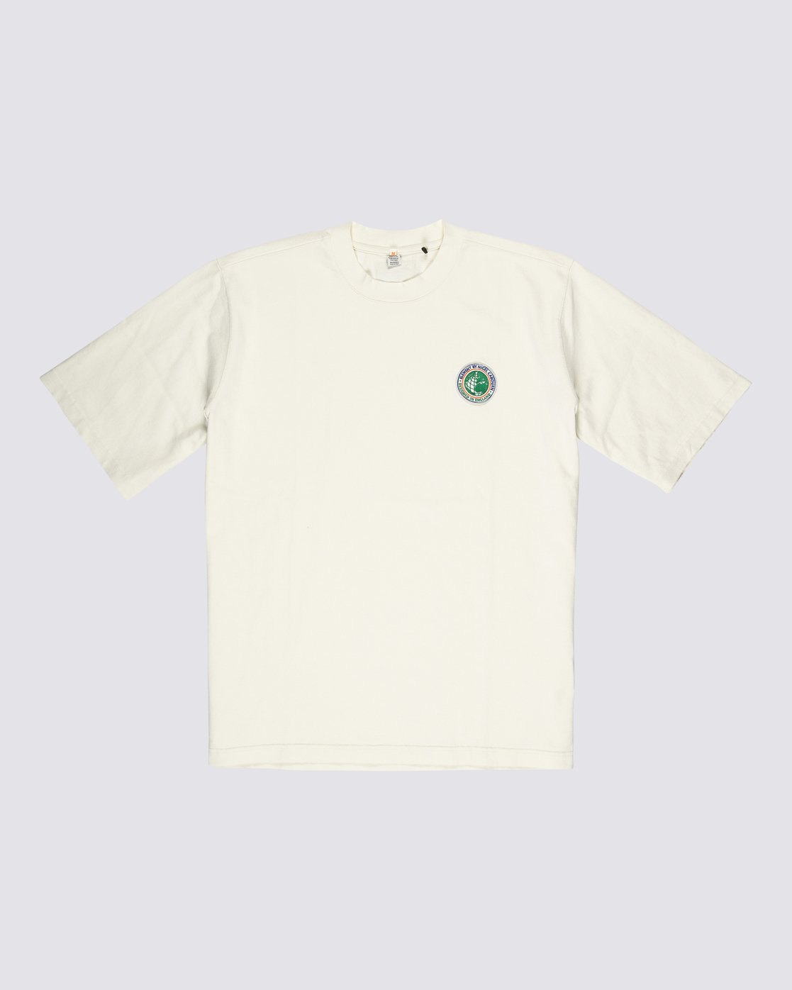 0 Element by Nigel Cabourn Sports Crew Tee White M9311ESP Element