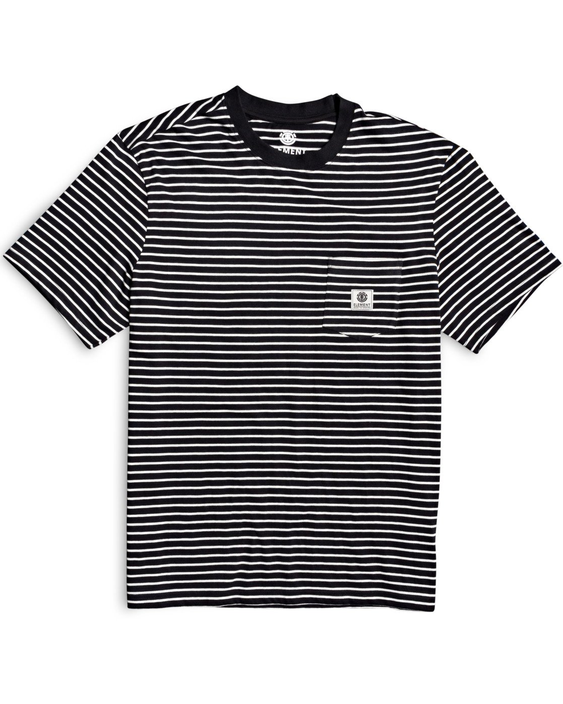 1 Basic Stripes T-Shirt Blue M9383EBS Element