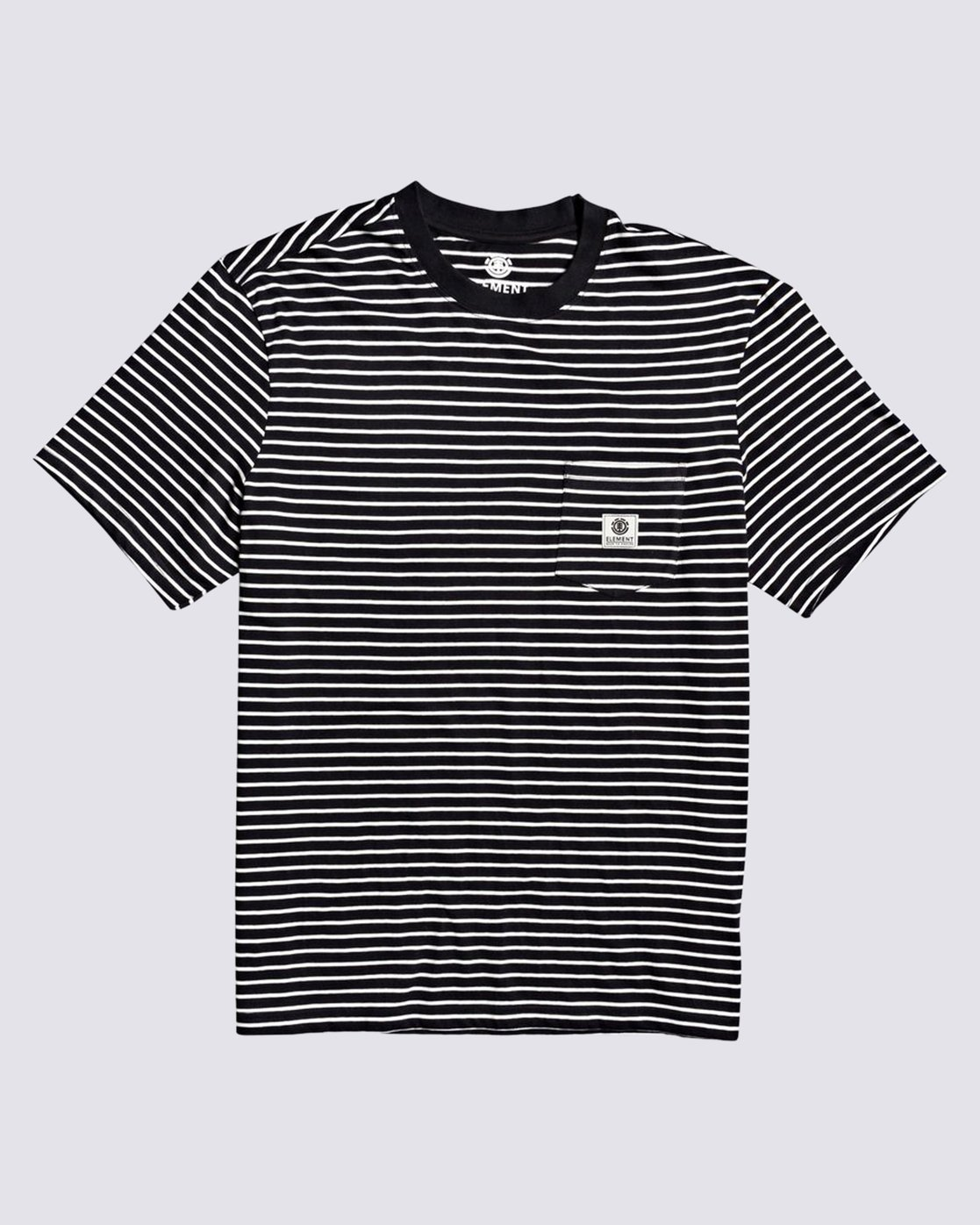 0 Basic Stripes T-Shirt Blue M9383EBS Element
