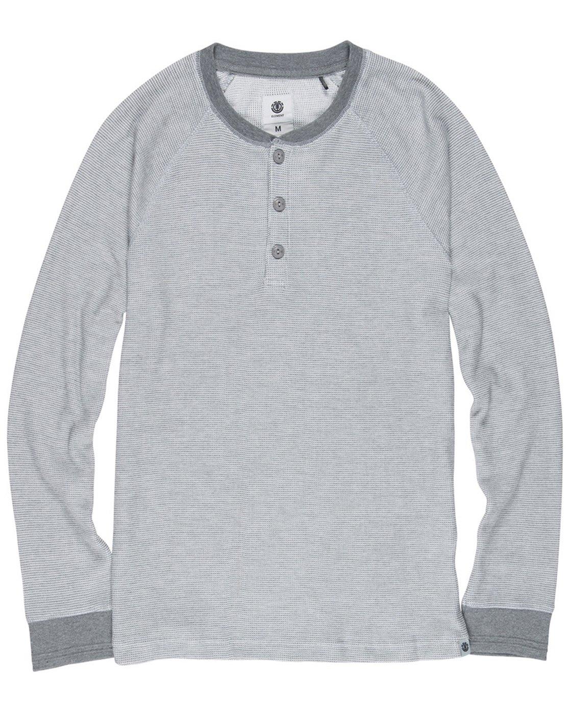 1 HENLEY LS Grey M958SEHL Element