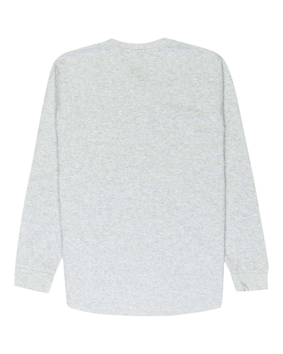 3 Barry Long Sleeve Shirt Grey M961VEBA Element