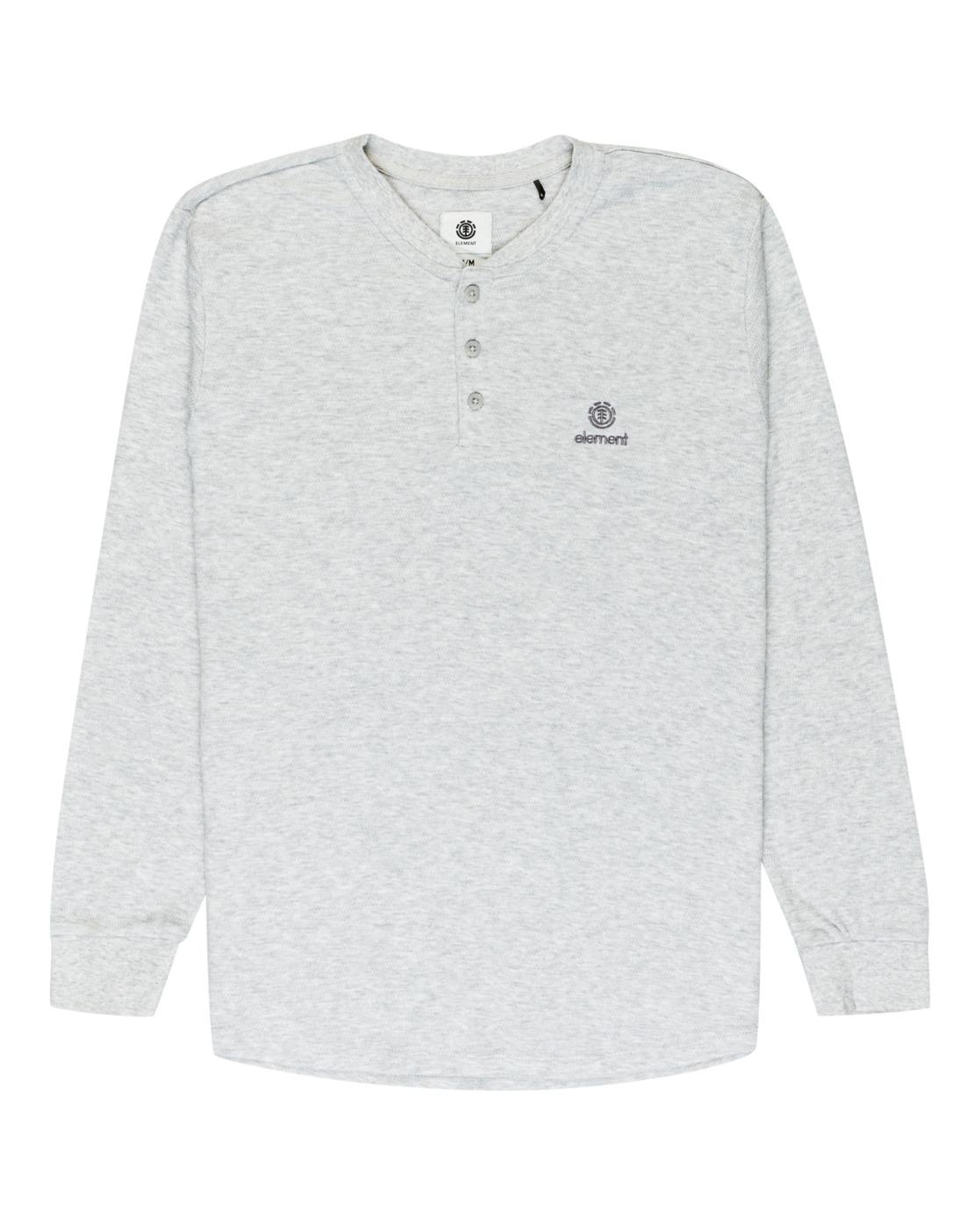 2 Barry Long Sleeve Shirt Grey M961VEBA Element