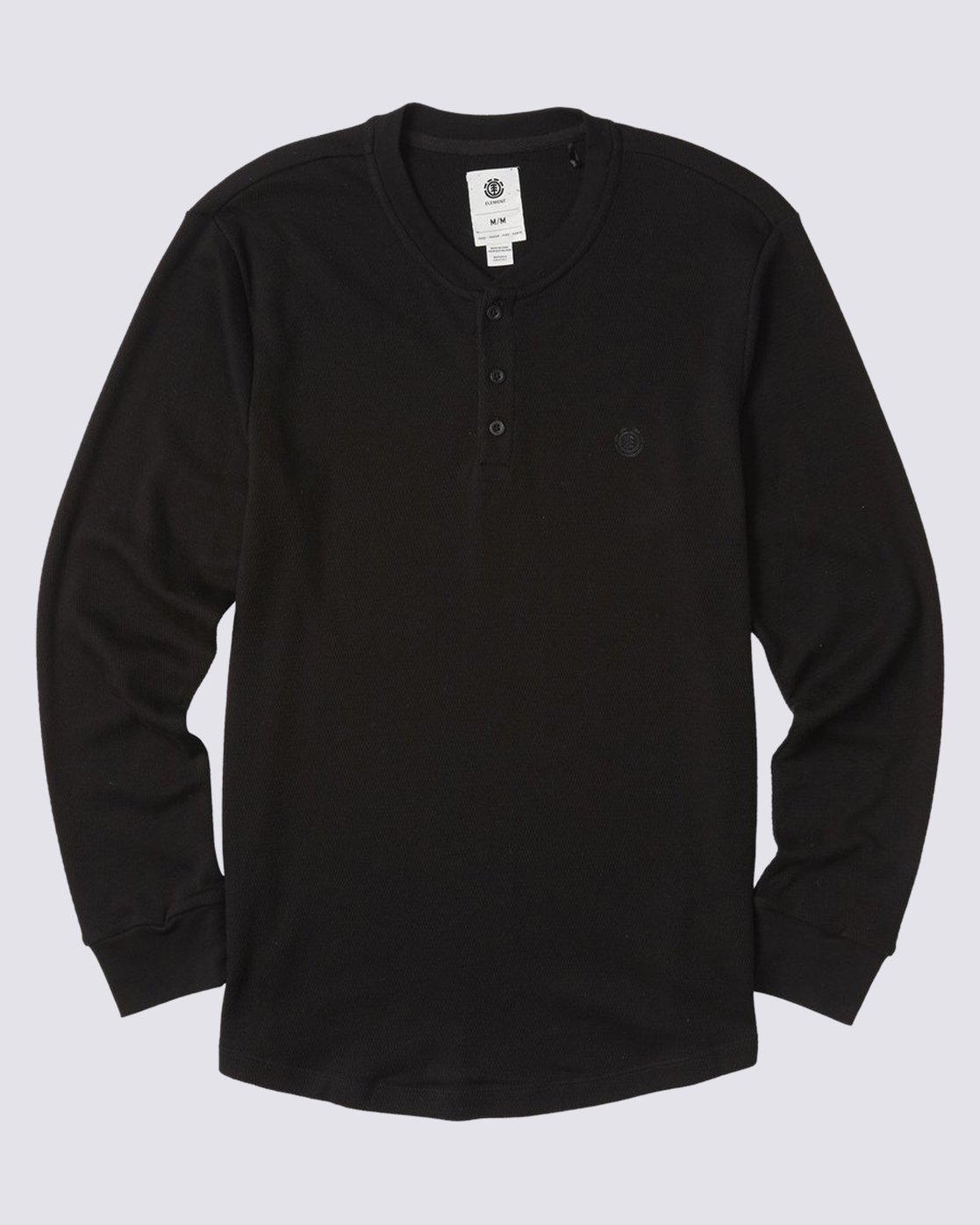 0 Barry Long Sleeve Shirt Blue M961VEBA Element