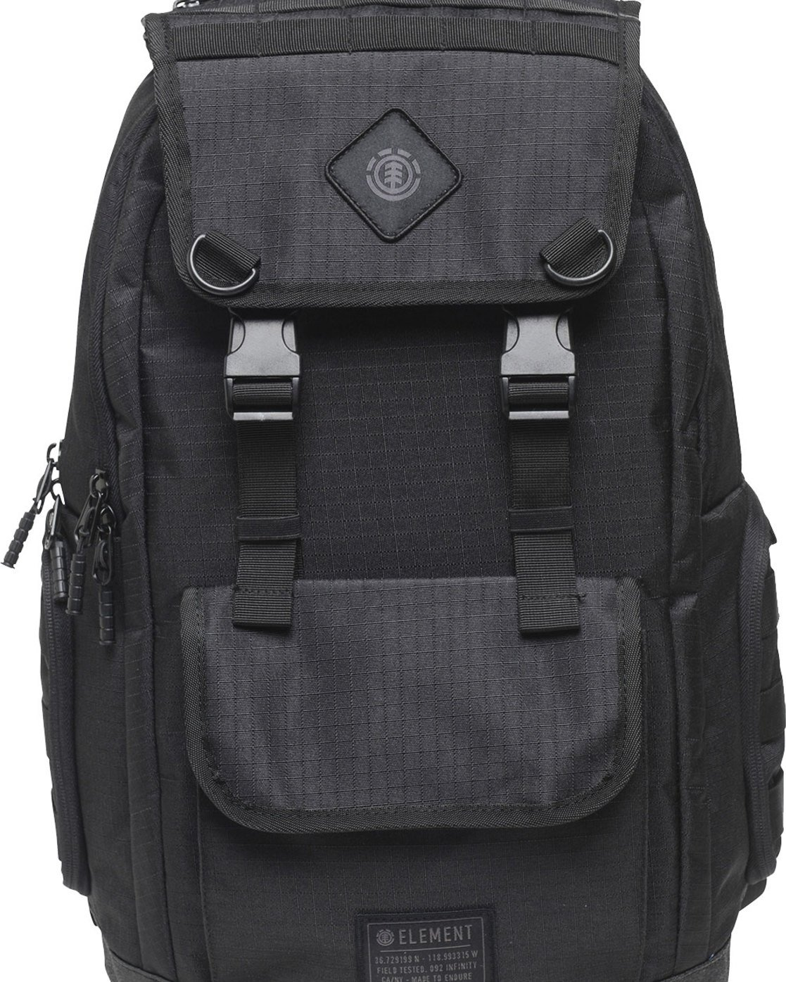 5 Cypress Recruit Backpack Black MABKVECR Element