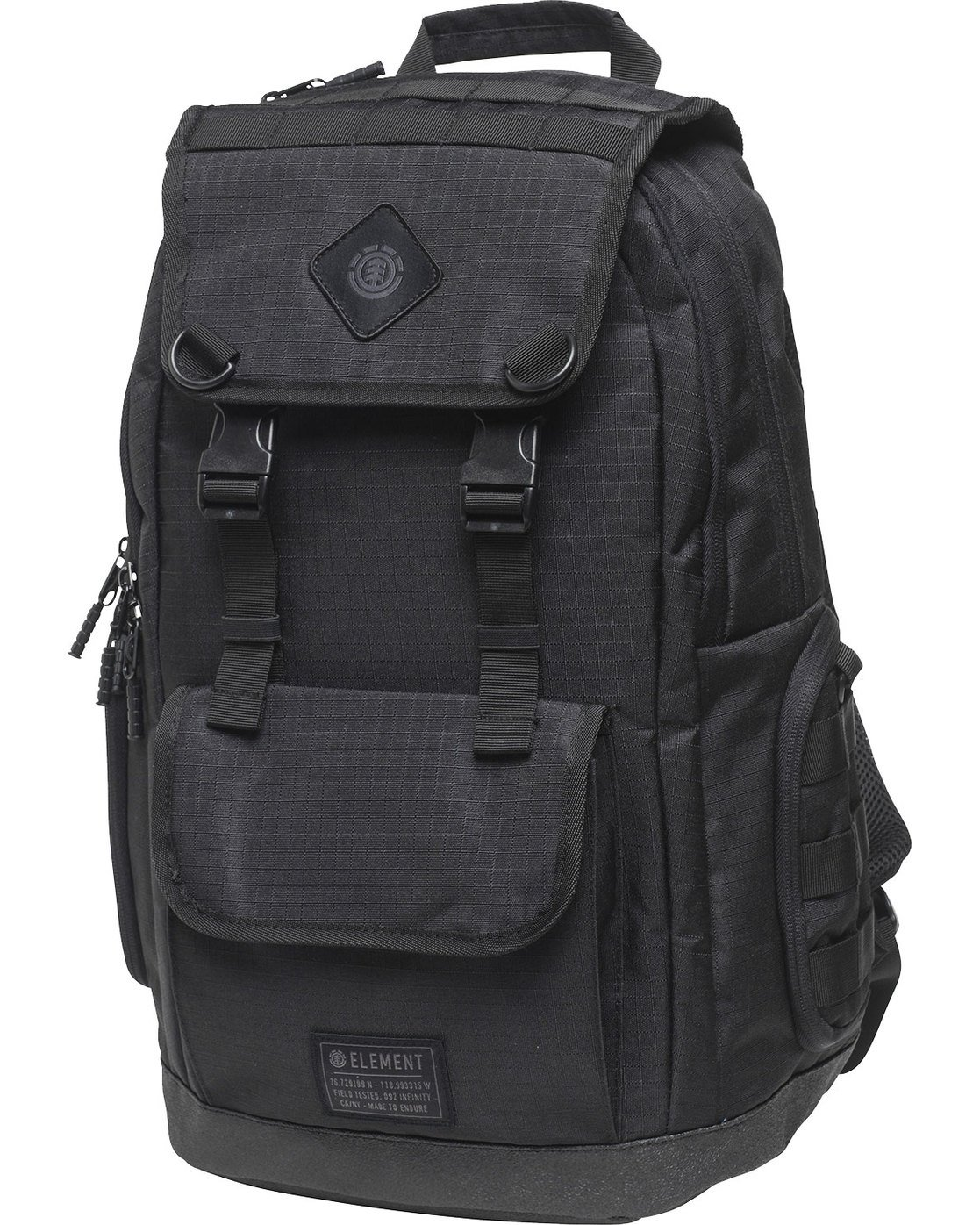 6 Cypress Recruit Backpack Black MABKVECR Element