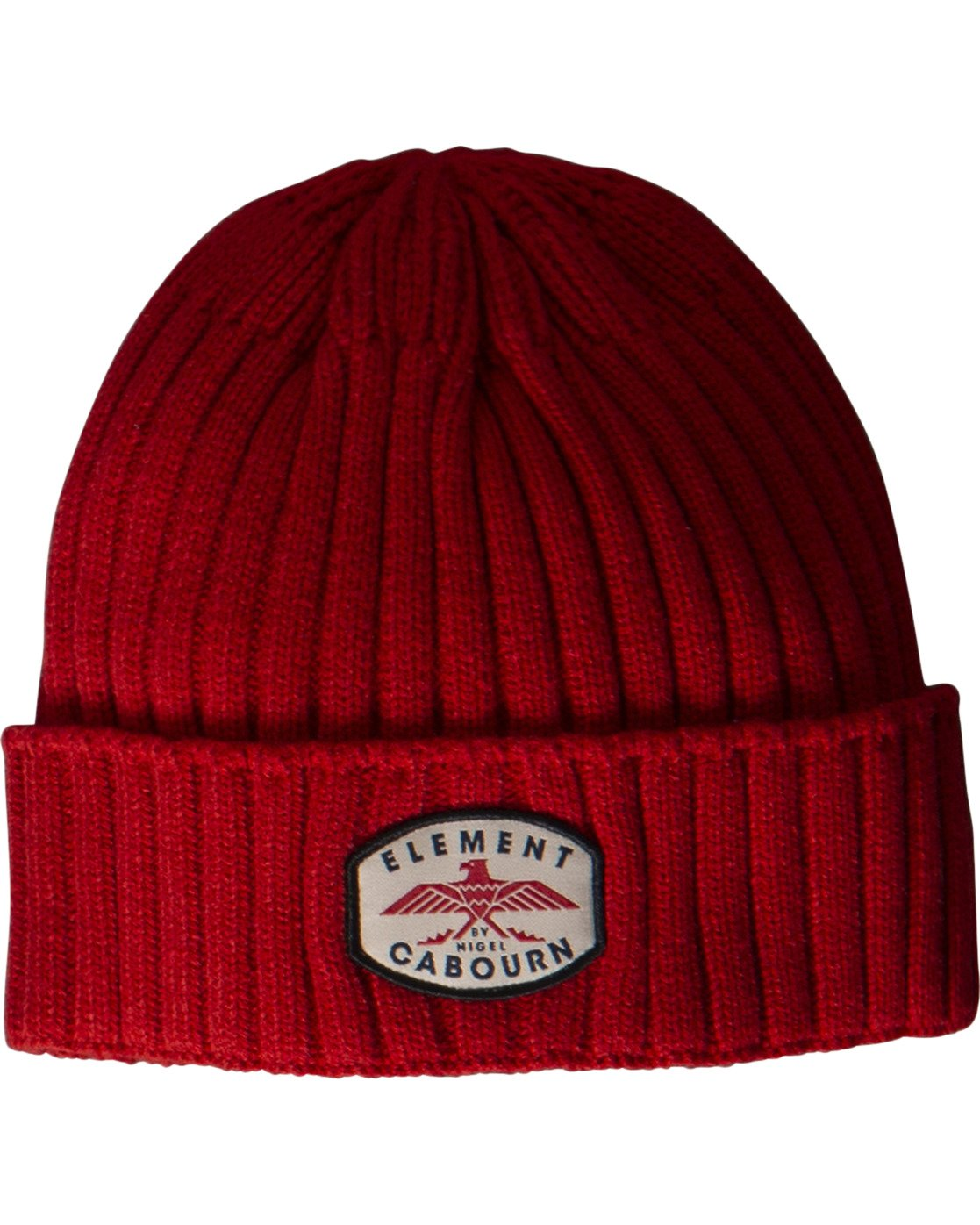 1 Cabourn Beanie Red MABN3ENC Element