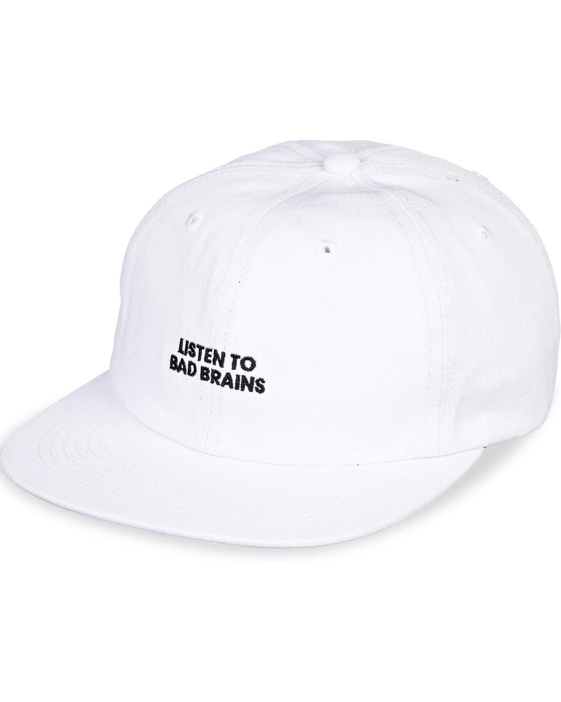 6 Bad Brains Motto Hat White MAHT3EBM Element