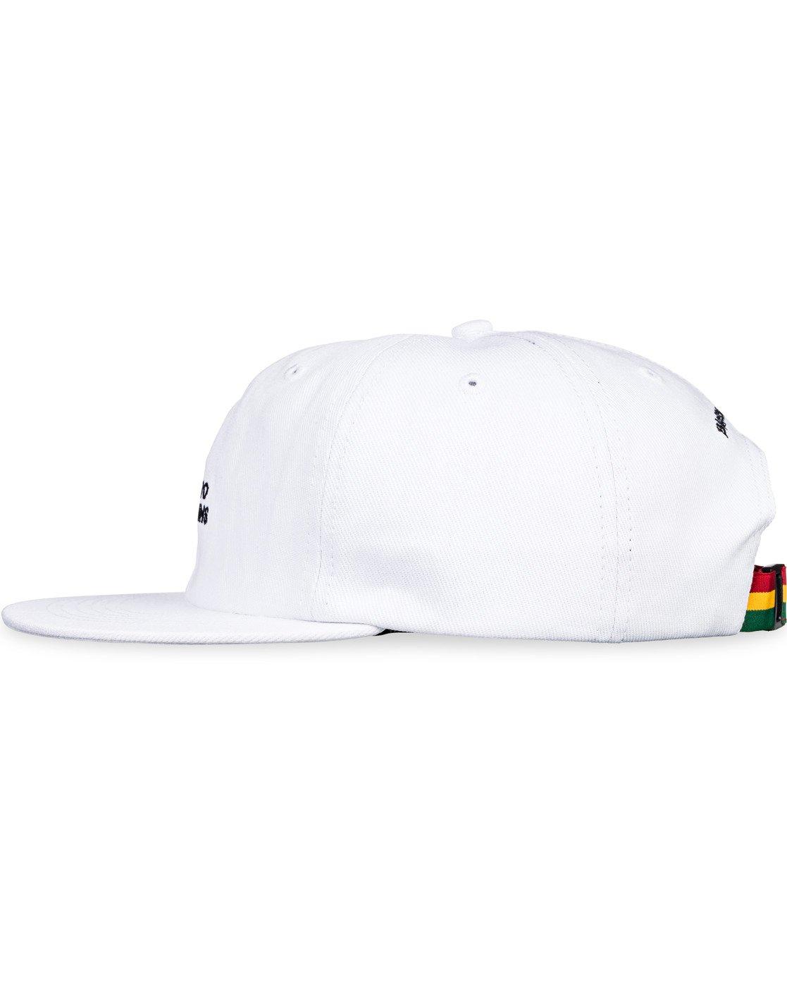 7 Bad Brains Motto Hat White MAHT3EBM Element
