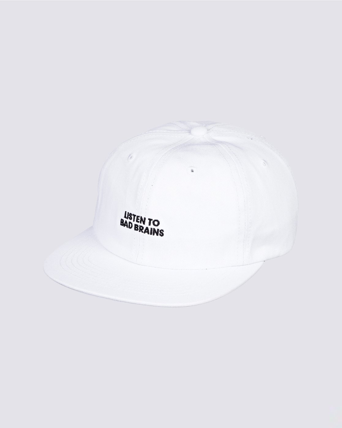0 Bad Brains Motto Hat White MAHT3EBM Element