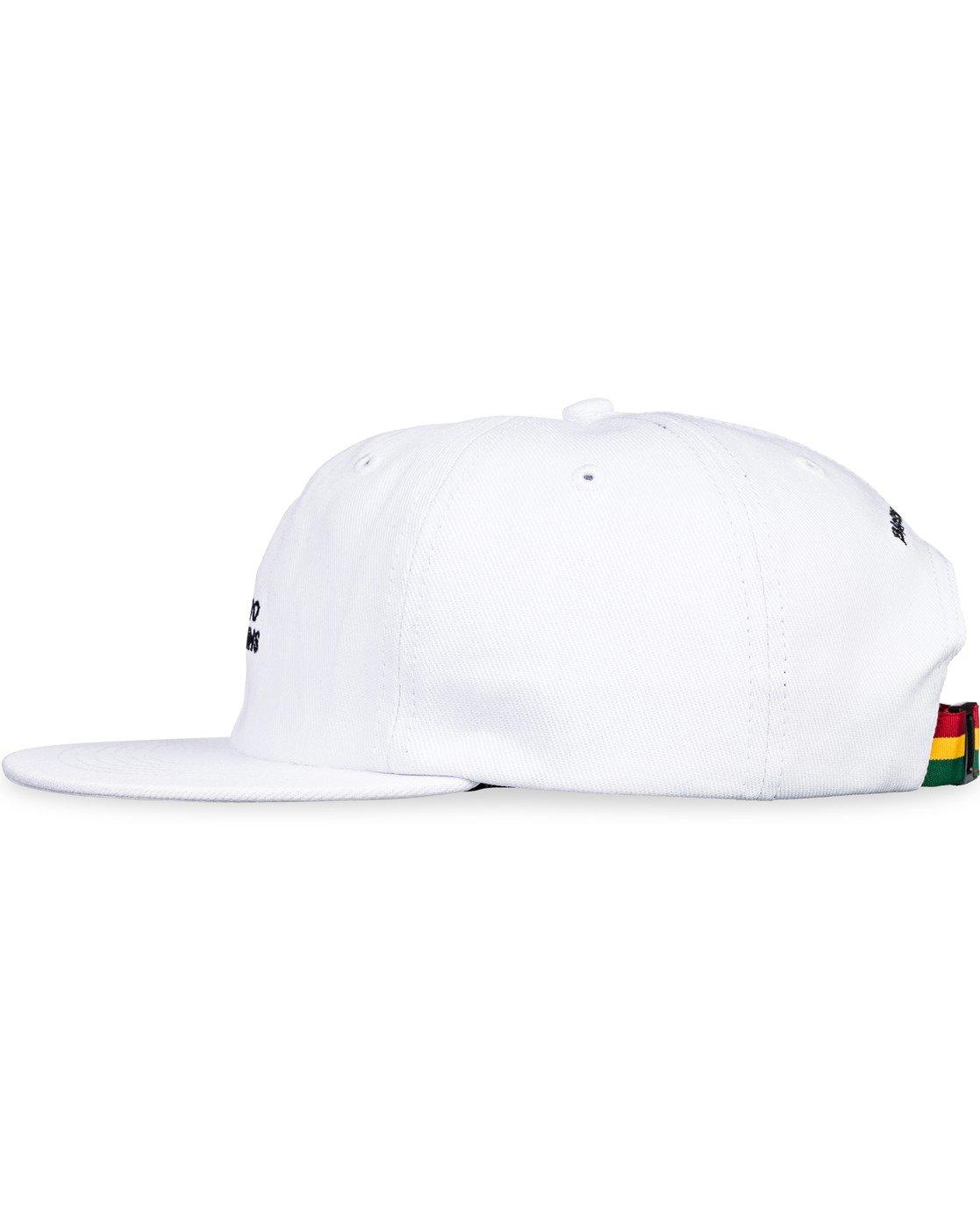4 Bad Brains Motto Hat White MAHT3EBM Element