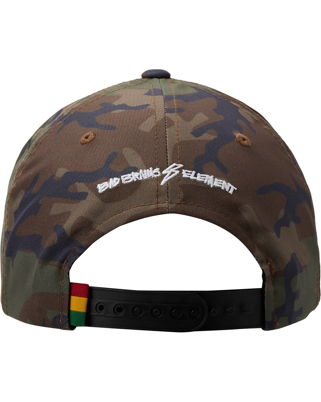 3 Bad Brains Badge Snapback Hat Black MAHT3EBS Element