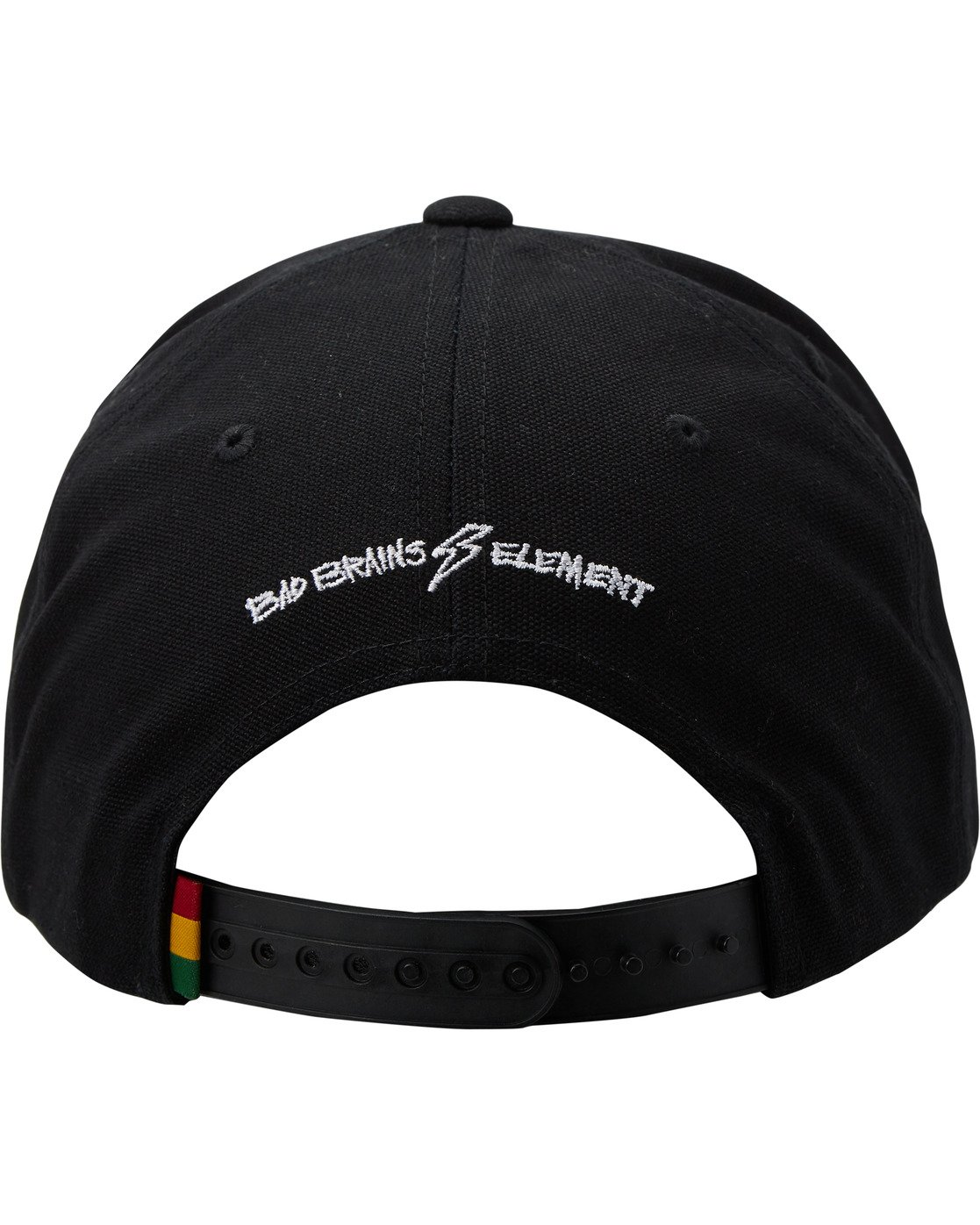 3 Bad Brains Badge Snapback Hat Blue MAHT3EBS Element