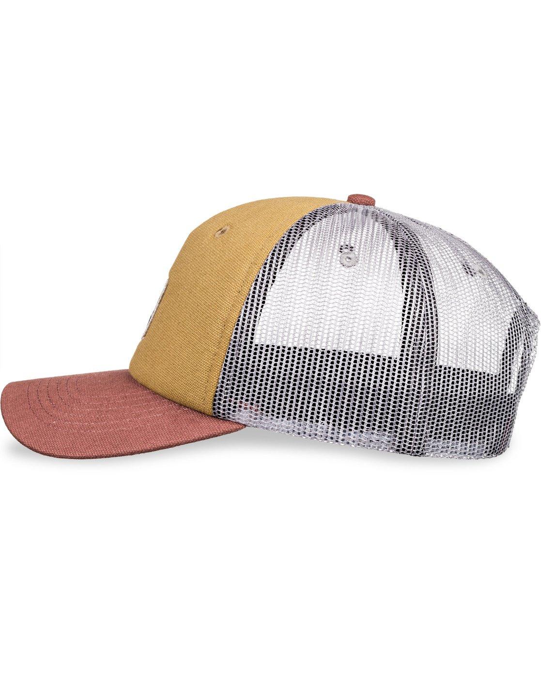 7 Icon Trucker Hat Brown MAHT3EIC Element