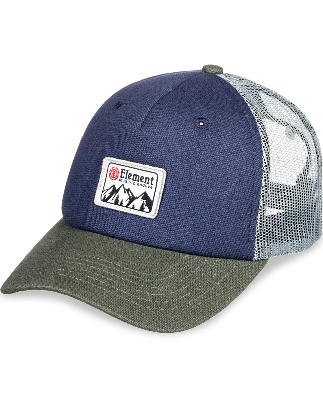 6 Icon Trucker Hat Blue MAHT3EIC Element