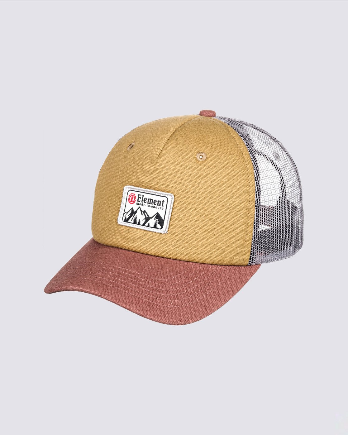 0 Icon Trucker Hat Brown MAHT3EIC Element
