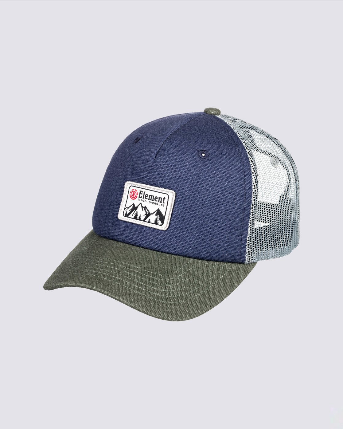 0 Icon Trucker Hat Blue MAHT3EIC Element