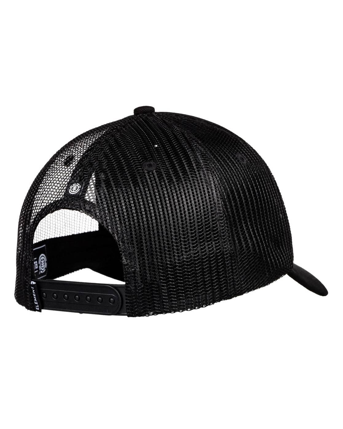 5 Icon Trucker Hat Black MAHT3EIC Element