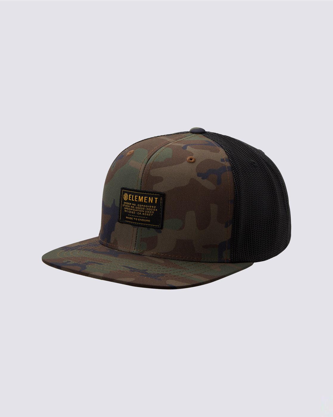 0 Recruit Snapback Hat Black MAHT3ERE Element
