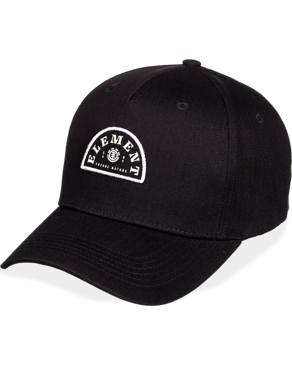 6 Wild Snapback Hat Black MAHT3EWI Element