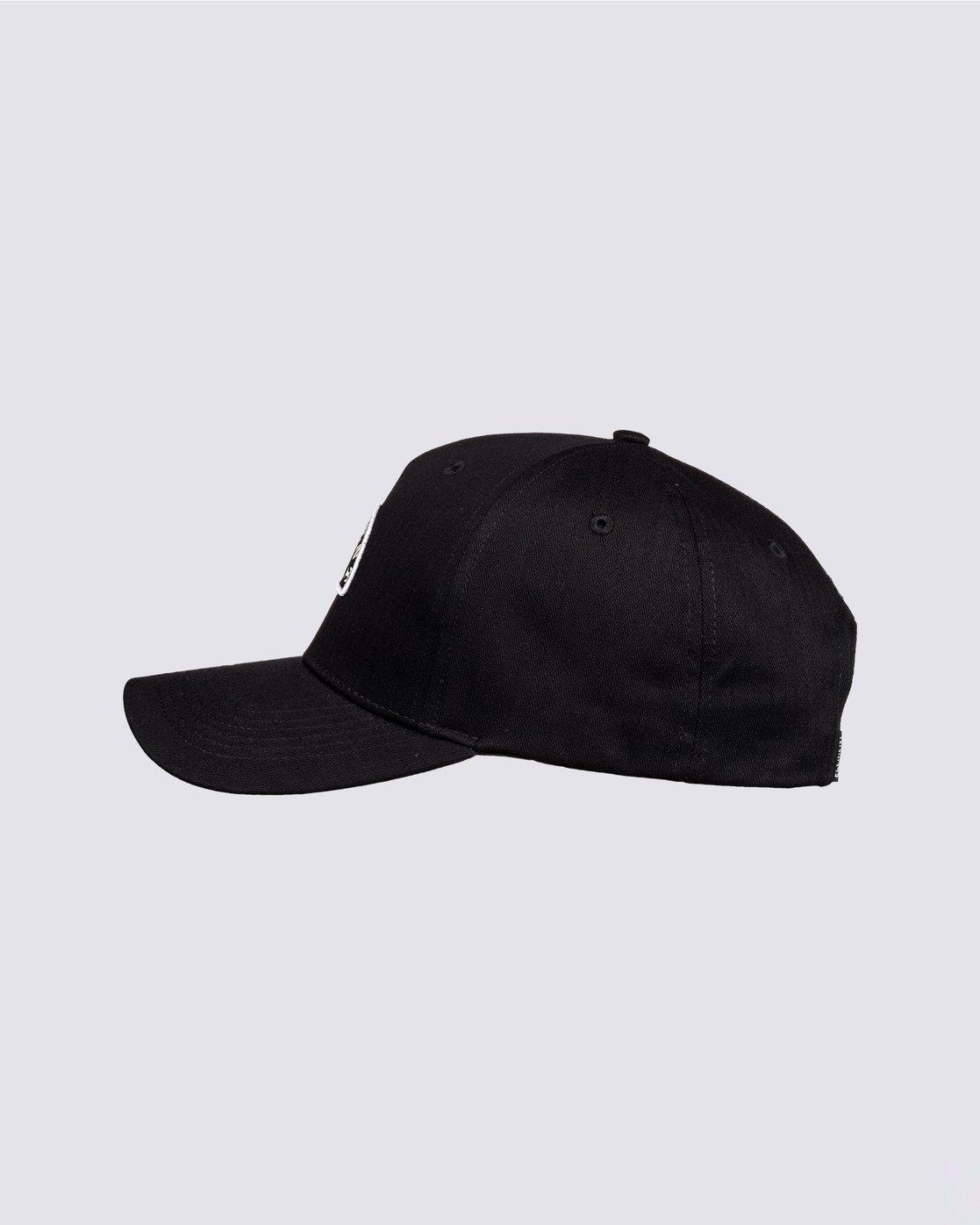 1 Wild Snapback Hat Black MAHT3EWI Element