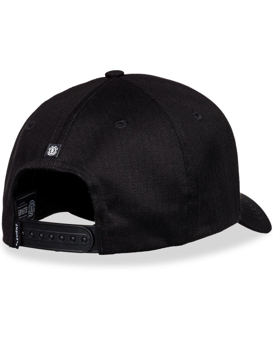 5 Wild Snapback Hat Black MAHT3EWI Element