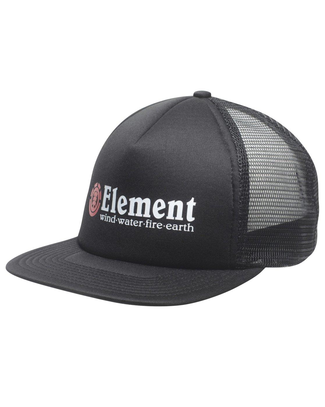 1 Rift Trucker Hat Black MAHTNERI Element