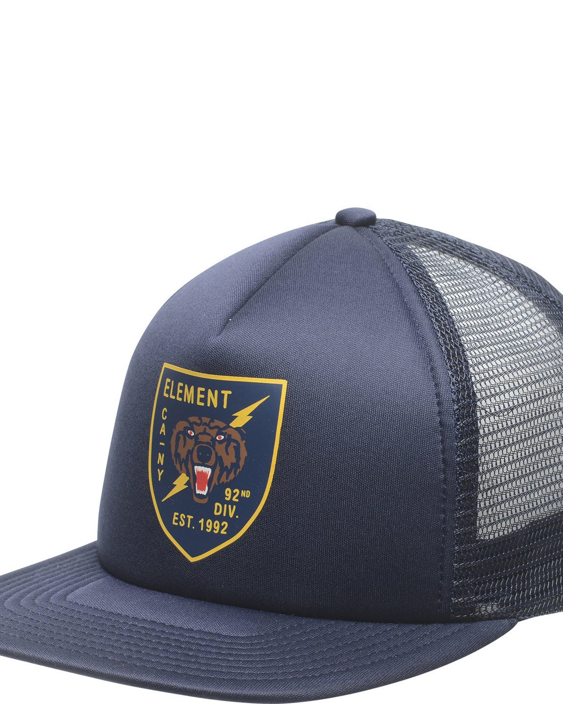 1 Rift Trucker Hat Blue MAHTNERI Element
