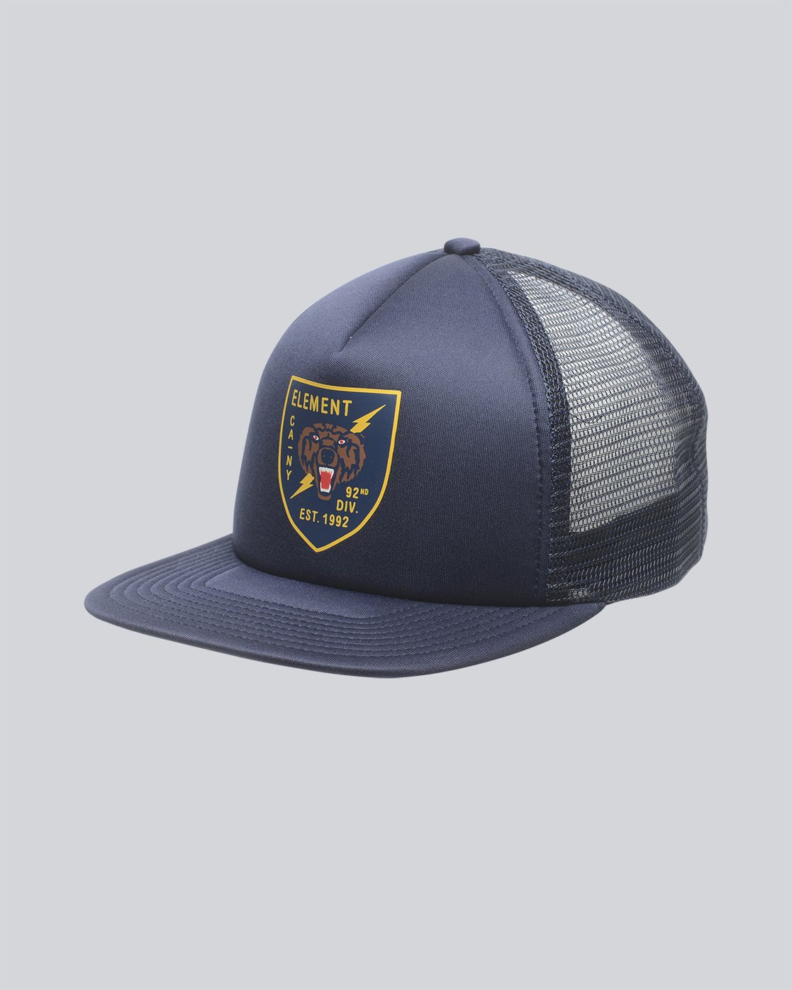 0 Rift Trucker Hat Blue MAHTNERI Element