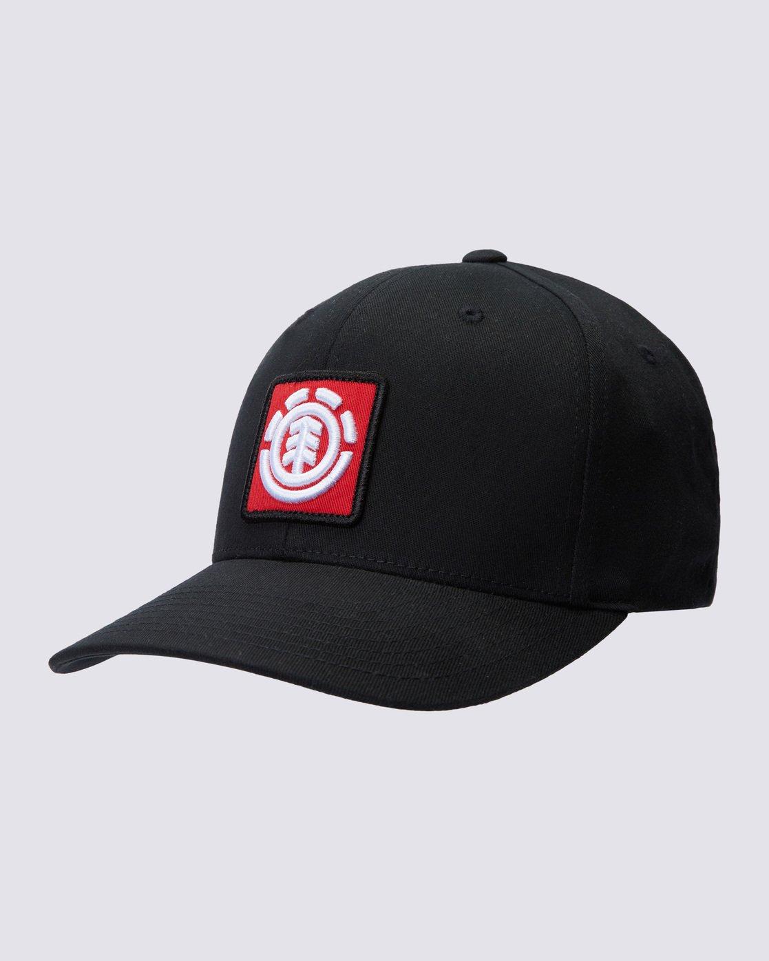 0 United Curved Patch Hat Blue MAHTSEUC Element
