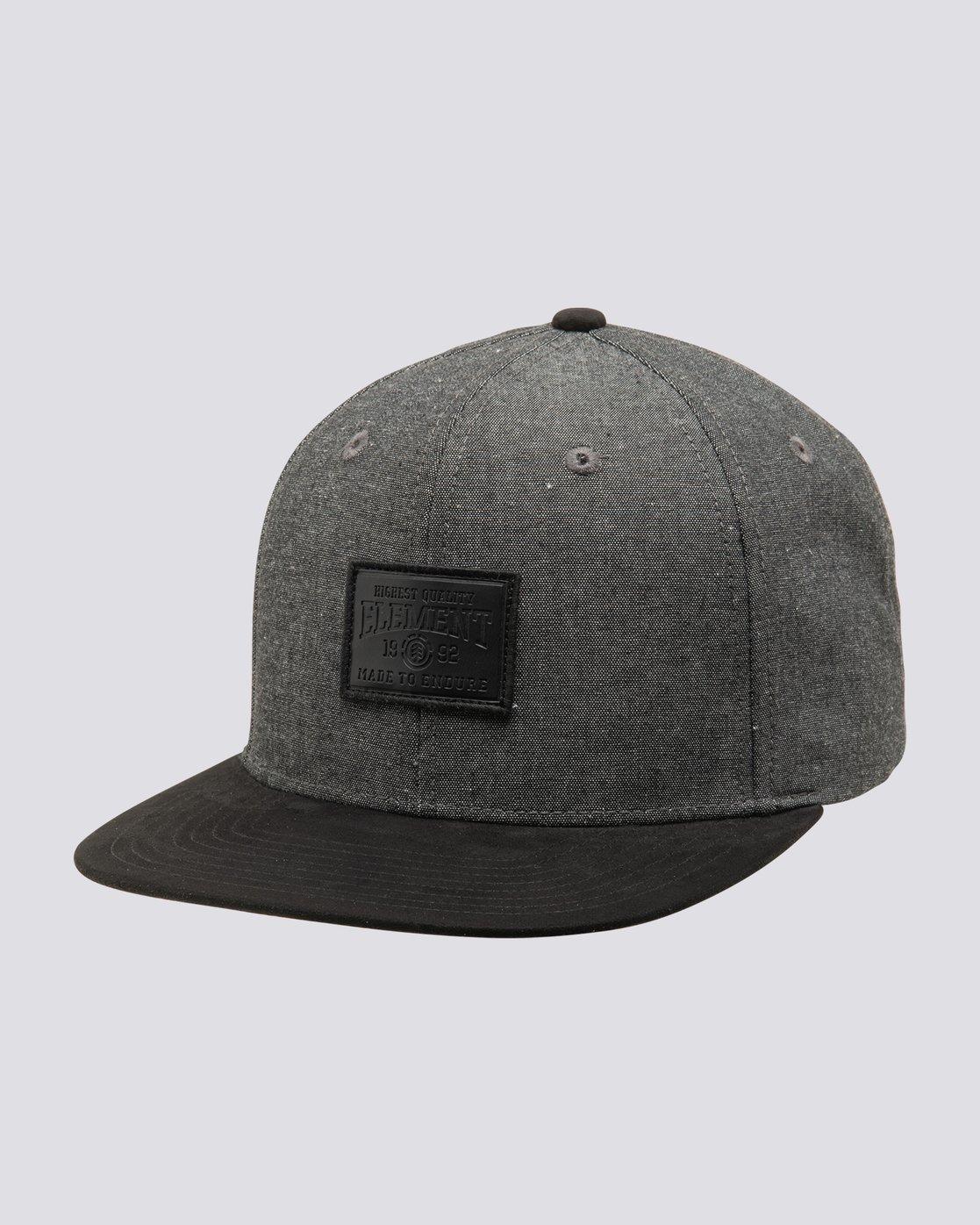 1 Collective Snapback Hat Black MAHTVECO Element