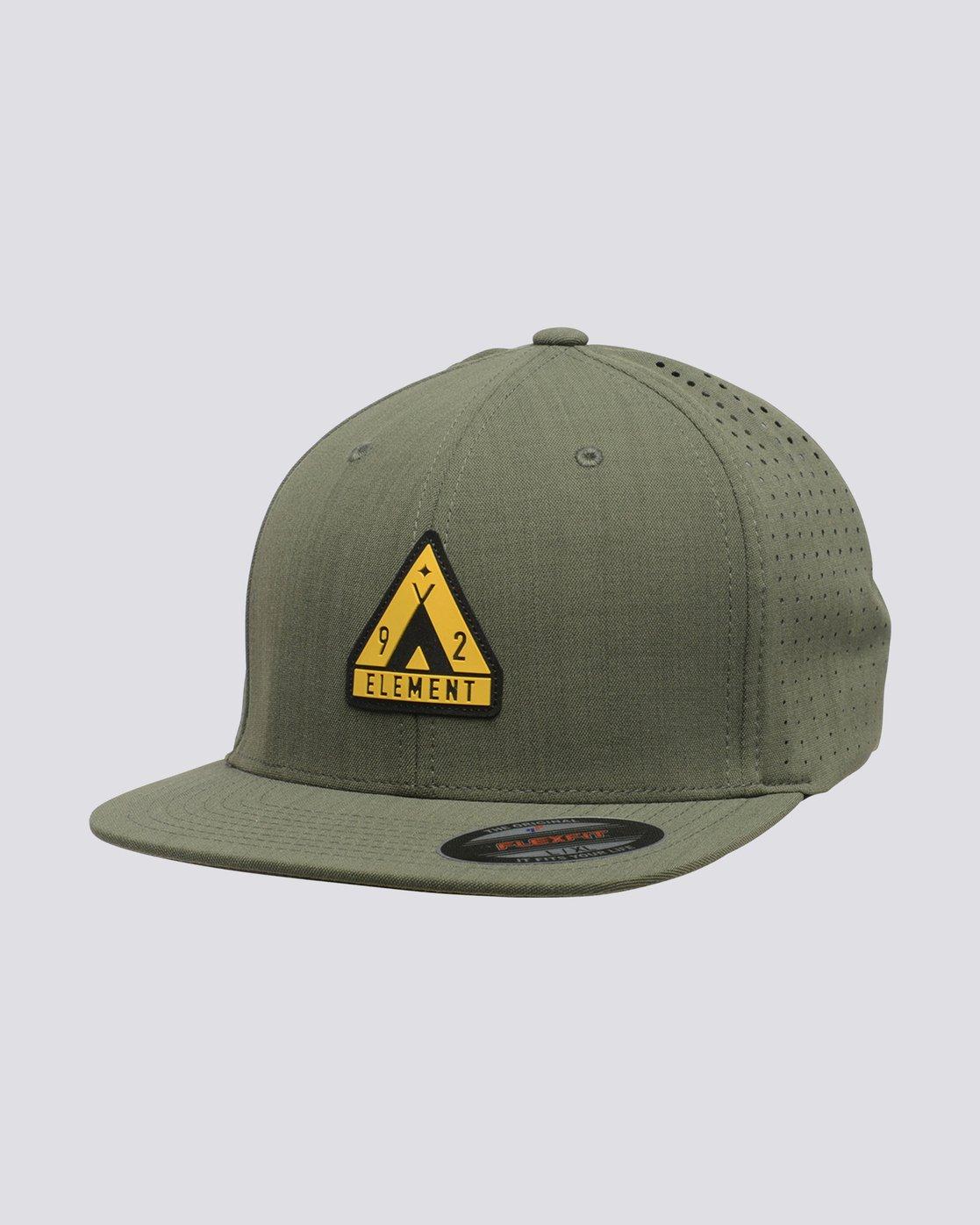 0 Hogan Flex Cap Green MAHTVEHO Element