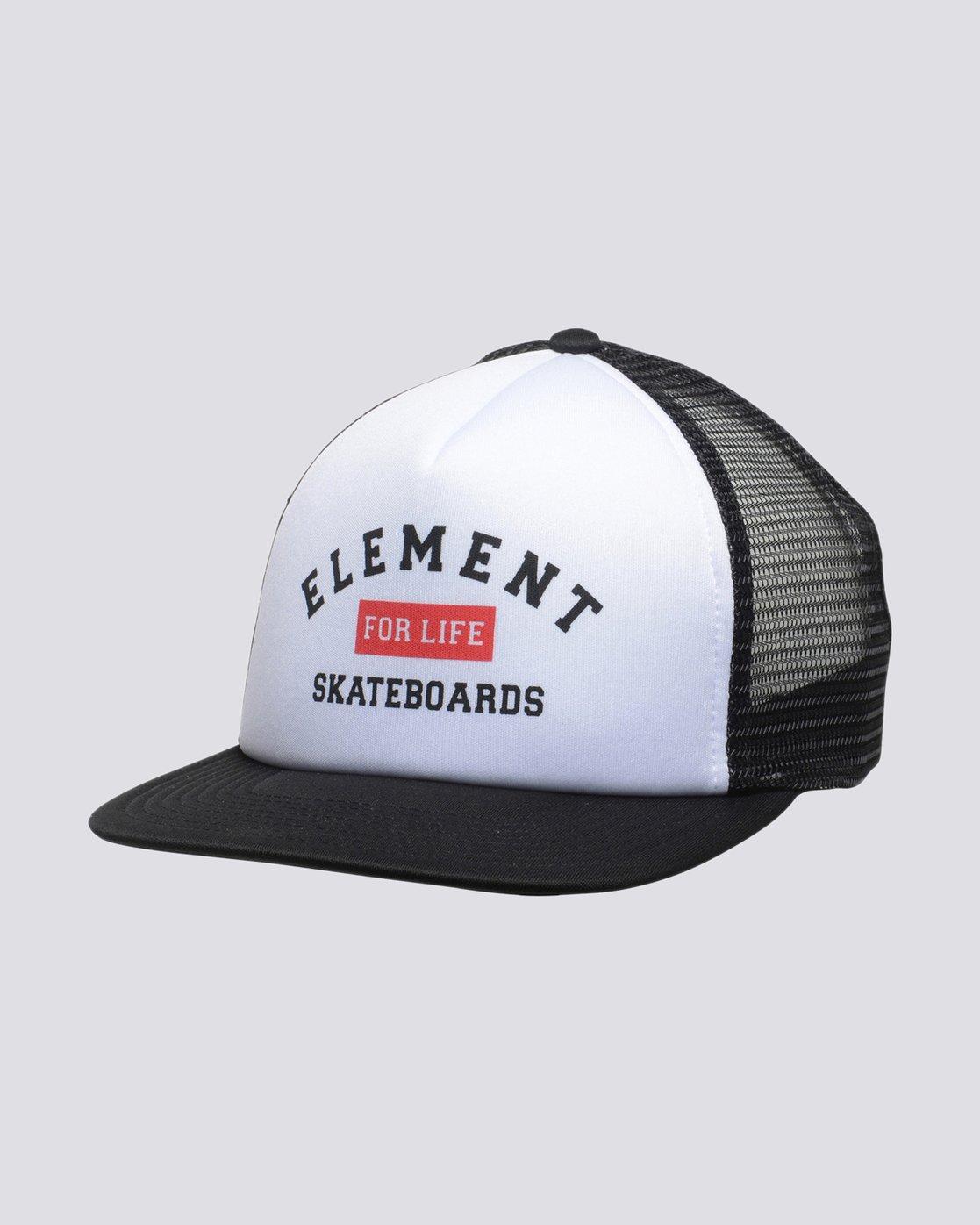 0 Rift II Trucker Cap Black MAHTVERT Element