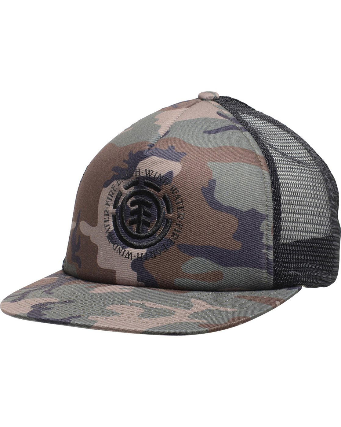 1 Seal 2 Trucker Hat Camo MAHTVEST Element
