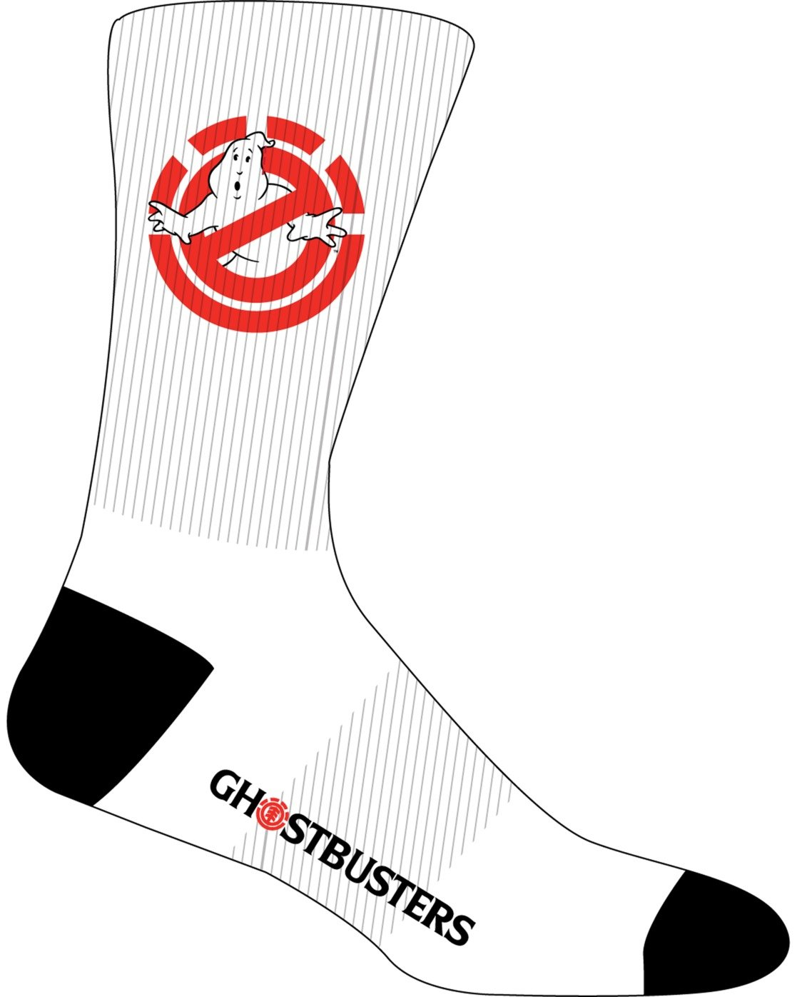 2 Ghostbusters Socks White MASK3EGB Element