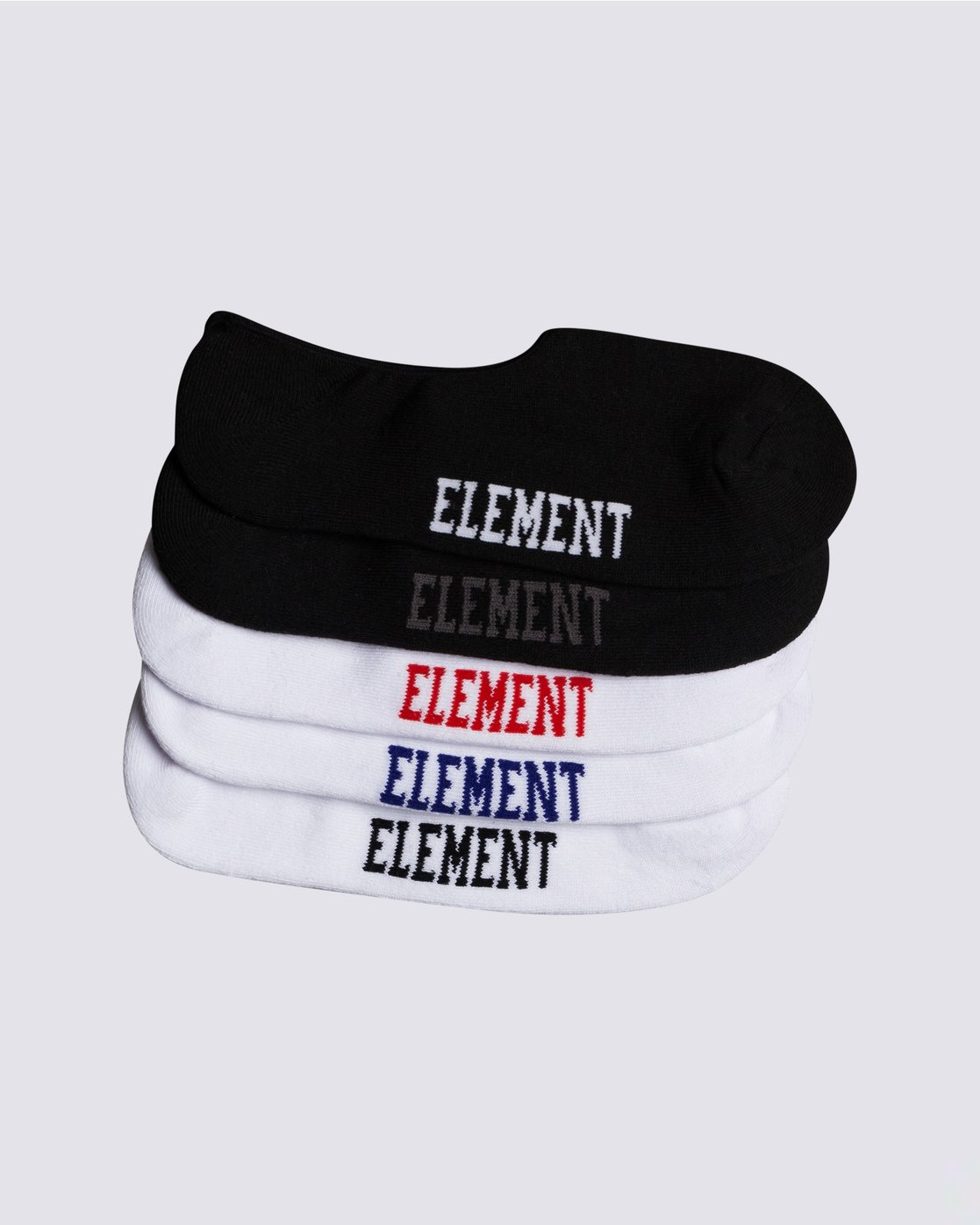 0 Low-Rise 5-Pack Socks Grey MASKELOR Element