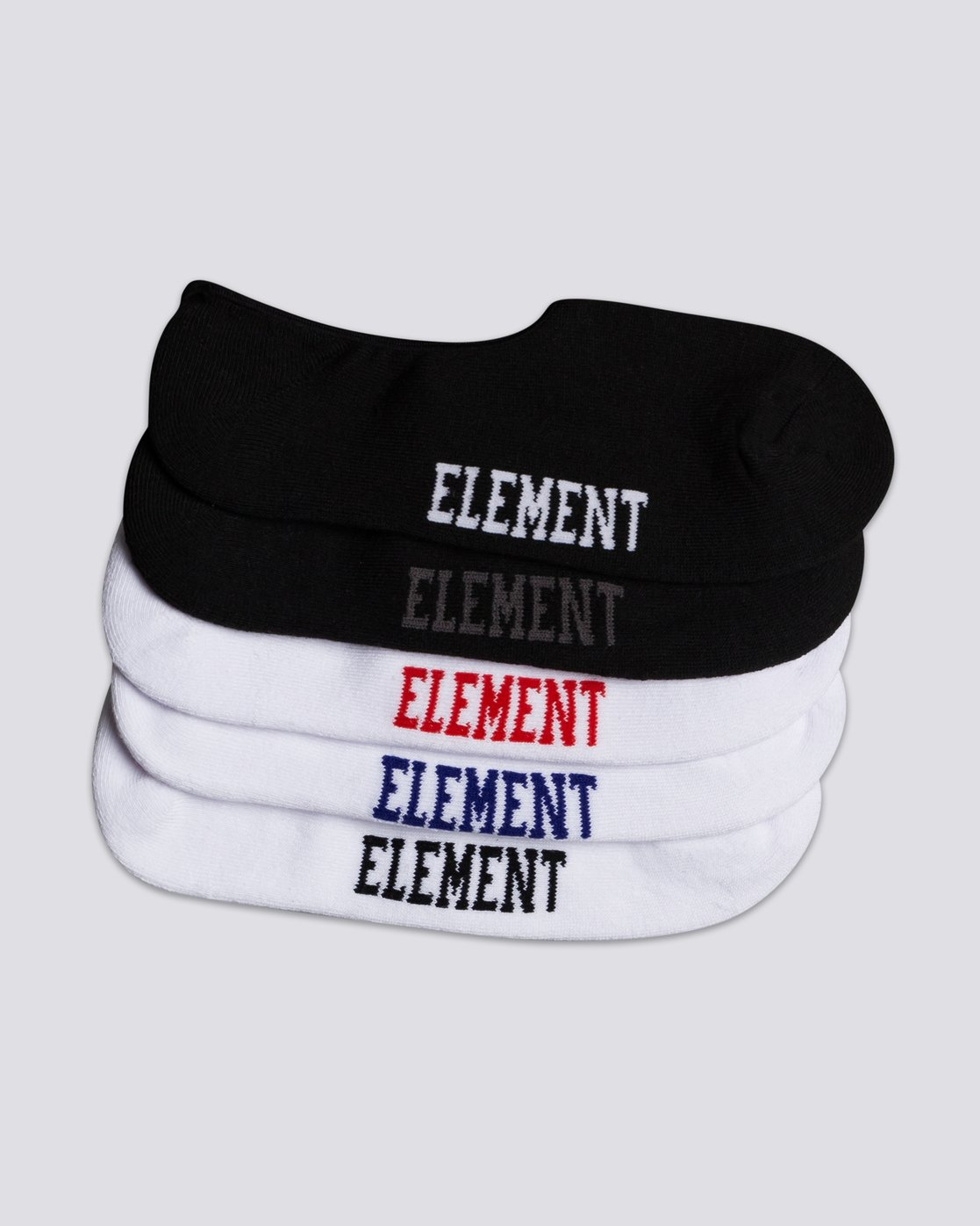 1 Low-Rise 5-Pack Socks Grey MASKELOR Element