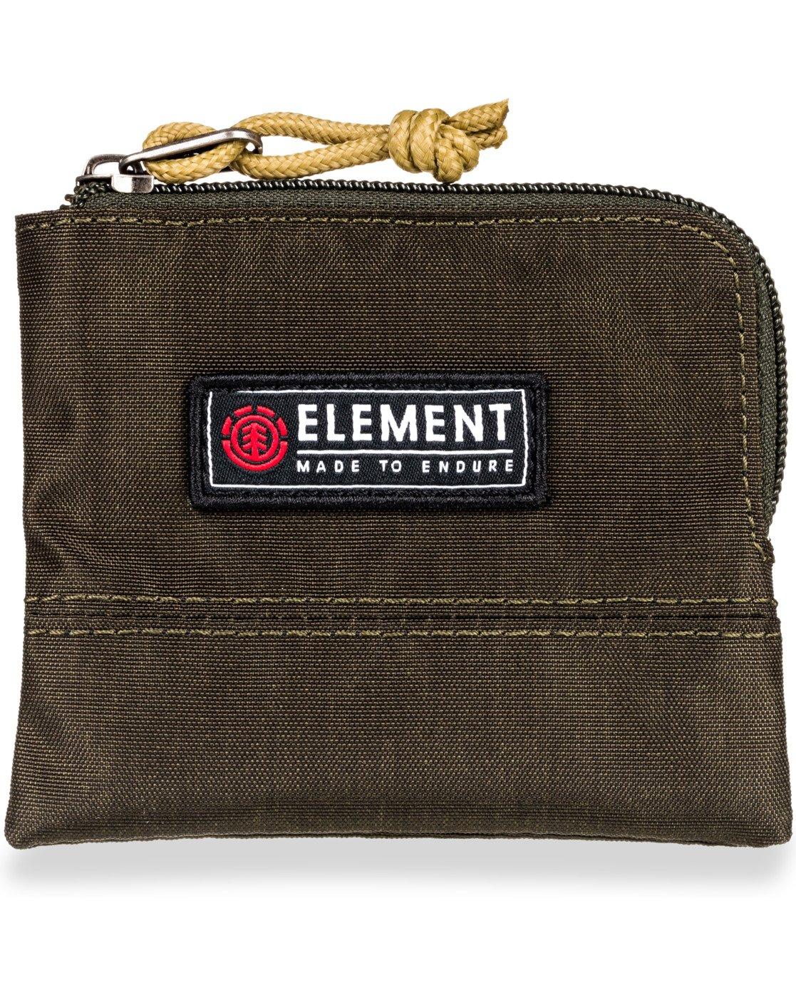 4 Camper Zippered Coin Pouch Green MAWT3ECA Element