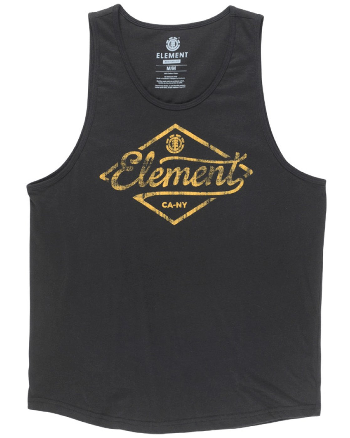 1 Rhomb Tank Top Black MT90TERH Element