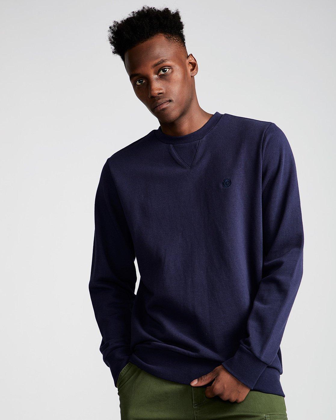 0 Cornell French Terry - Fleece for Men Black N1CRA1ELP9 Element