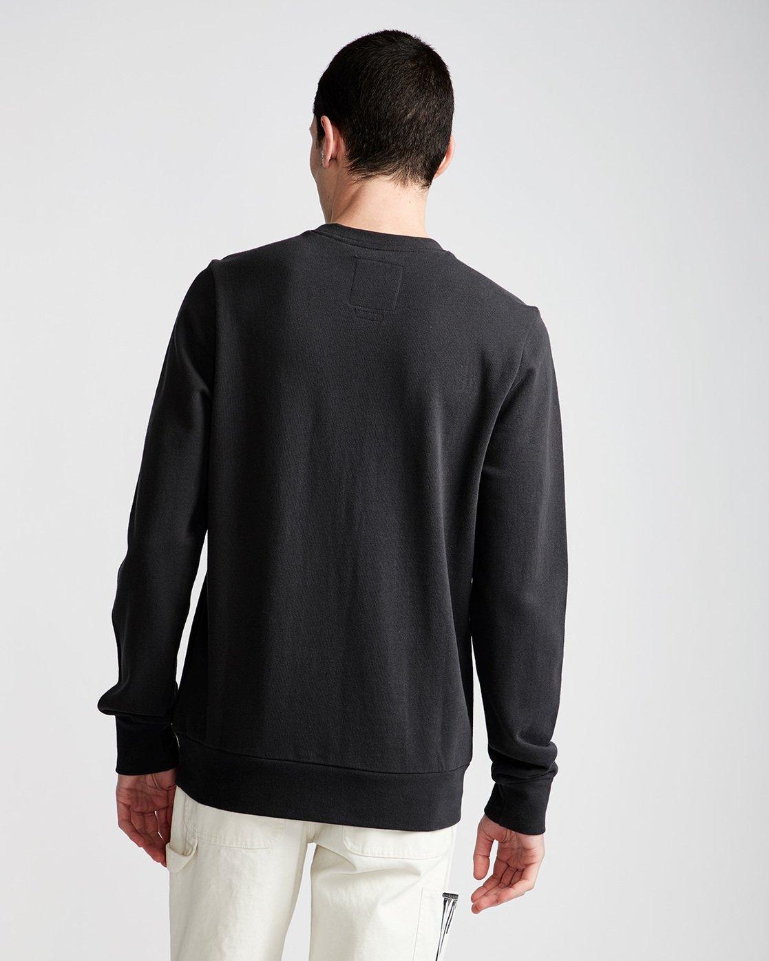 2 By Hand Crew - Fleece for Men Black N1CRB4ELP9 Element
