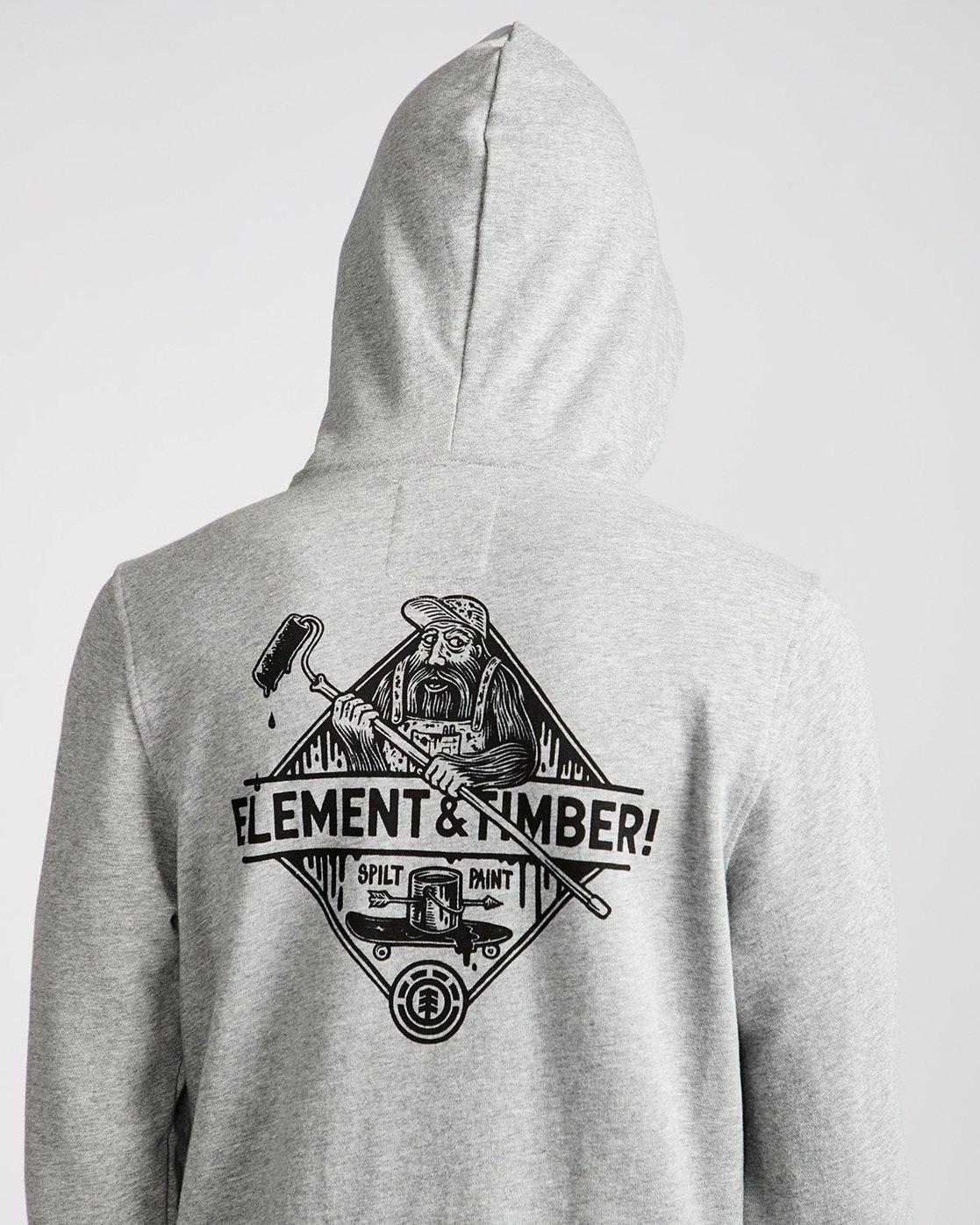 3 Rolling Ho - Fleece for Men Grey N1HOB6ELP9 Element