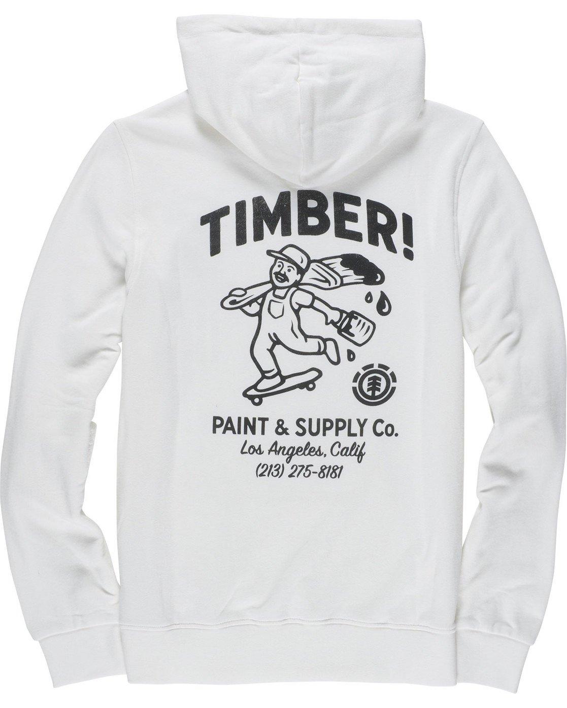 7 Supply Co Ho - Fleece for Men White N1HOB8ELP9 Element