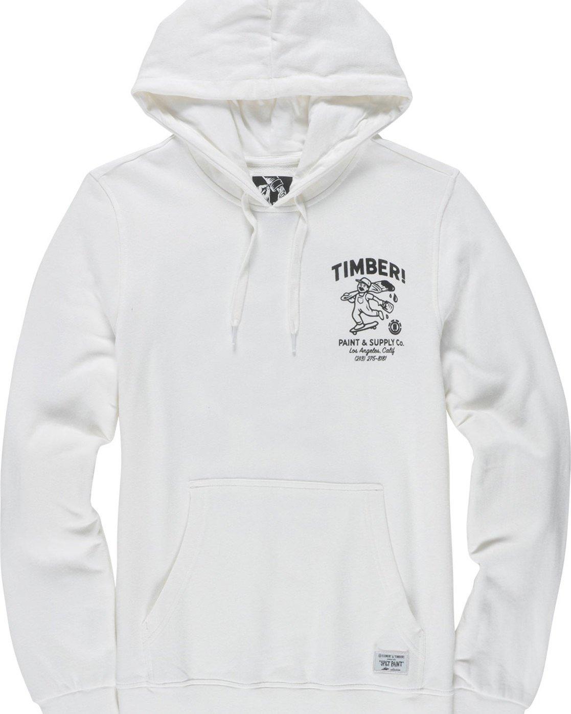 6 Supply Co Ho - Fleece for Men White N1HOB8ELP9 Element