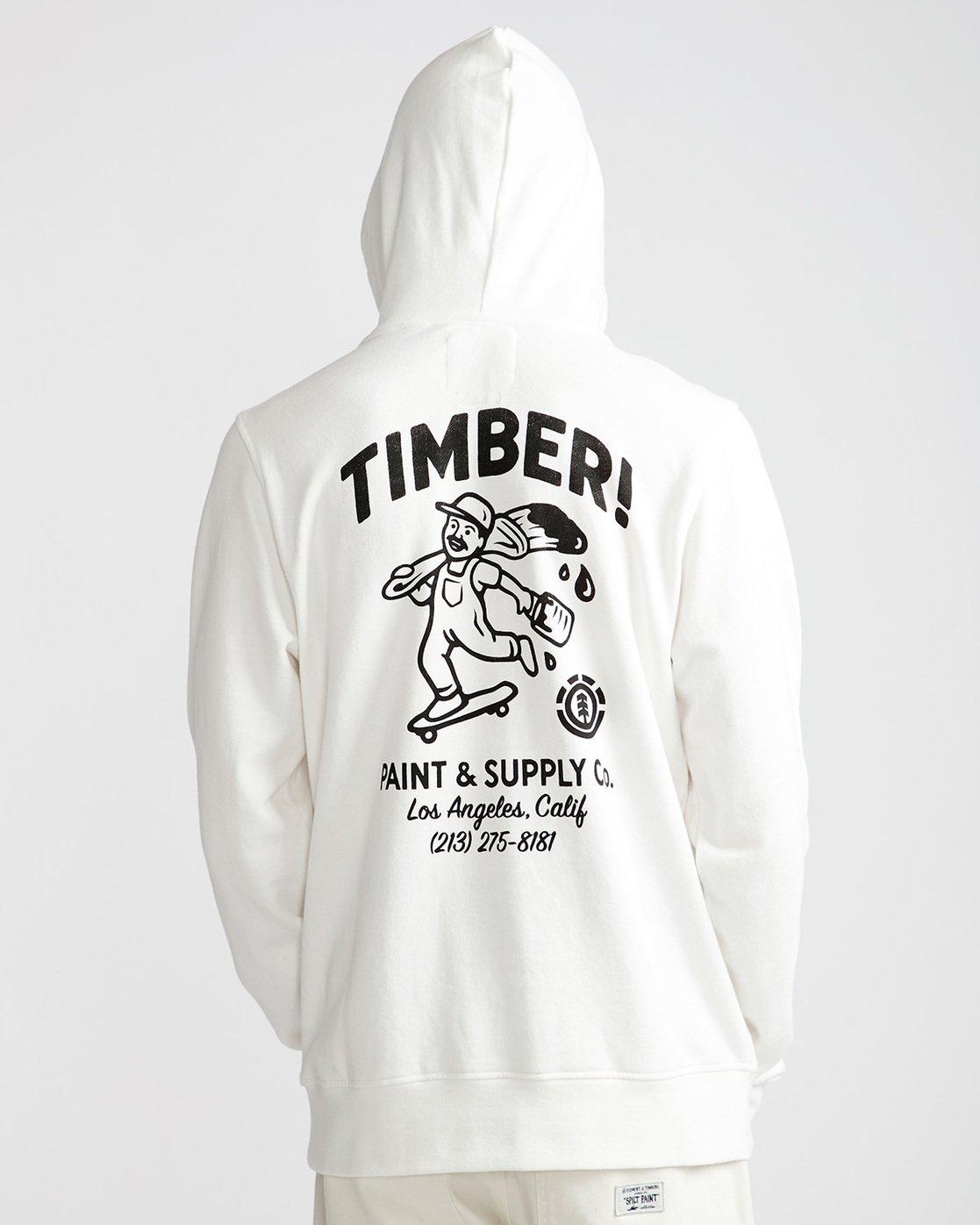 2 Supply Co Ho - Fleece for Men White N1HOB8ELP9 Element
