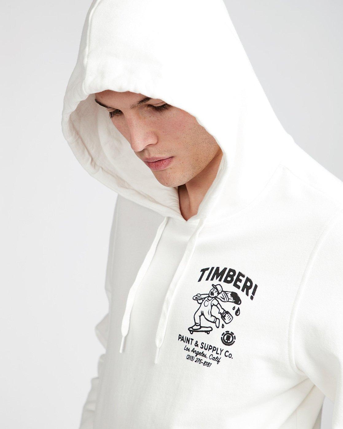 1 Supply Co Ho - Fleece for Men White N1HOB8ELP9 Element
