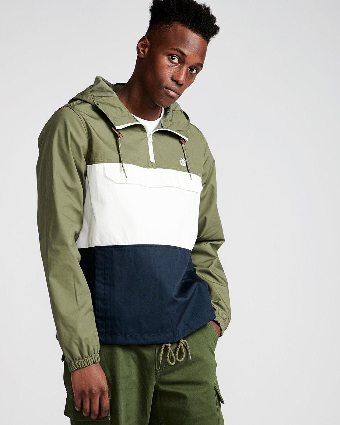 0 Covert - Jacket for Men Brown N1JKA1ELP9 Element