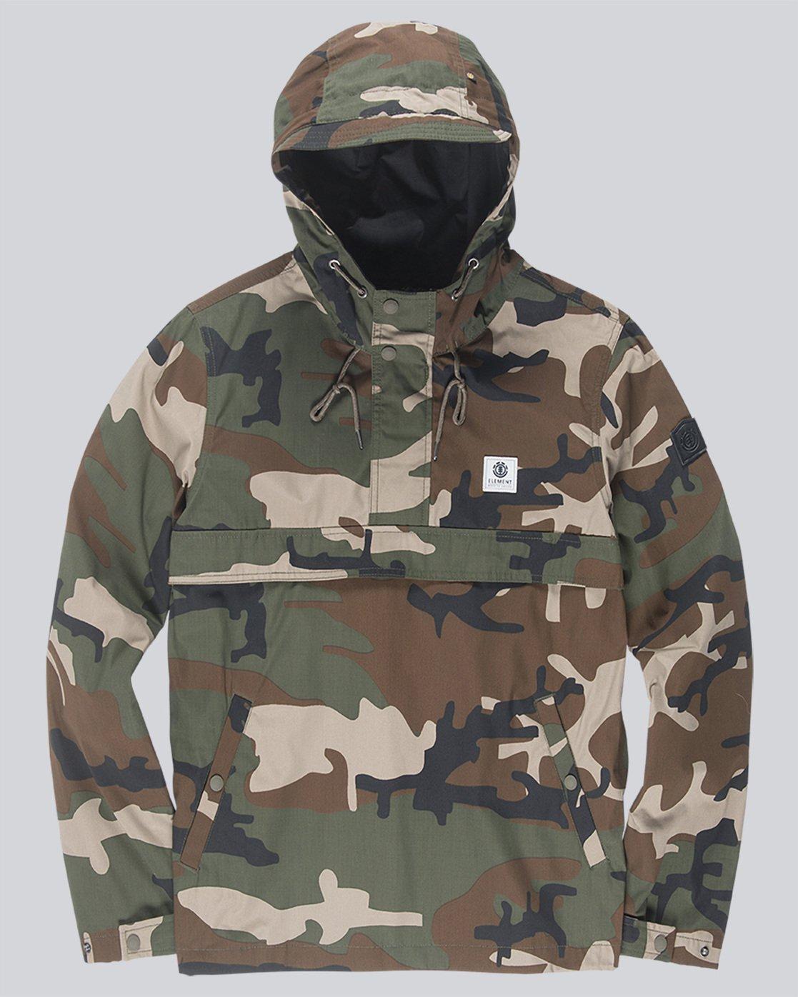 3 Barrow Light - Jacket for Men Camo N1JKA2ELP9 Element