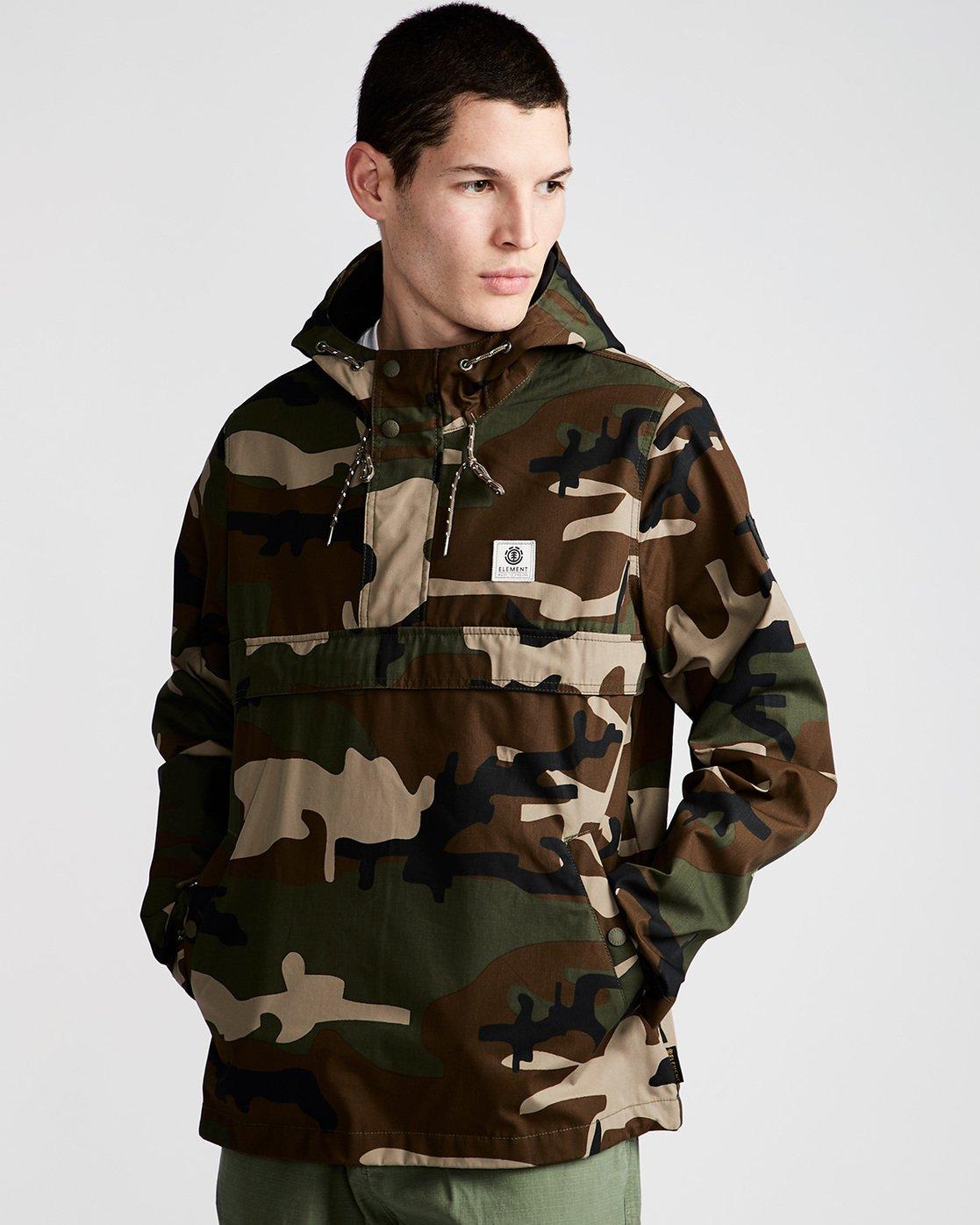 0 Barrow Light - Jacket for Men Camo N1JKA2ELP9 Element