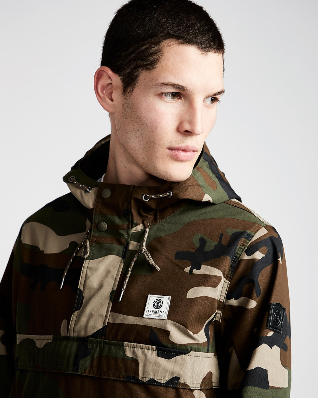 1 Barrow Light - Jacket for Men Camo N1JKA2ELP9 Element